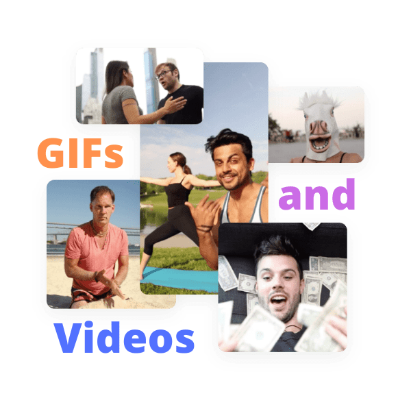 Gif and video stock