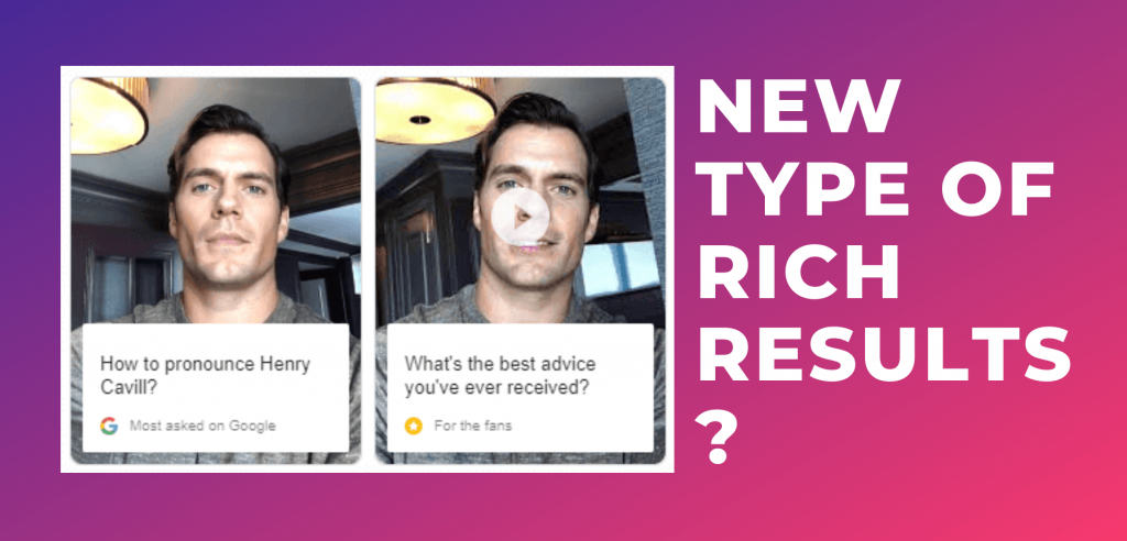 Top questions answered rich results