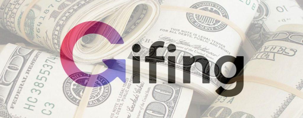 Gifing affiliate program